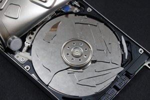 Hard disk crashed