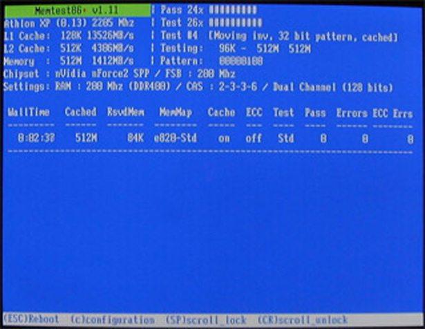 memtest86 bootable ram testing tool technibble