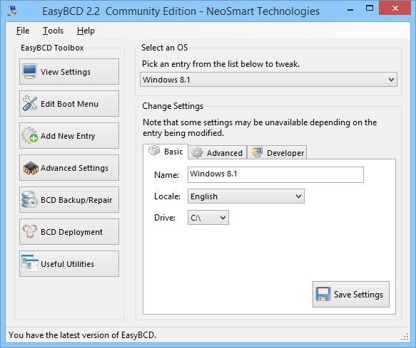 EasyBCD - Tweak Windows Vista's Bootloader - Technibble