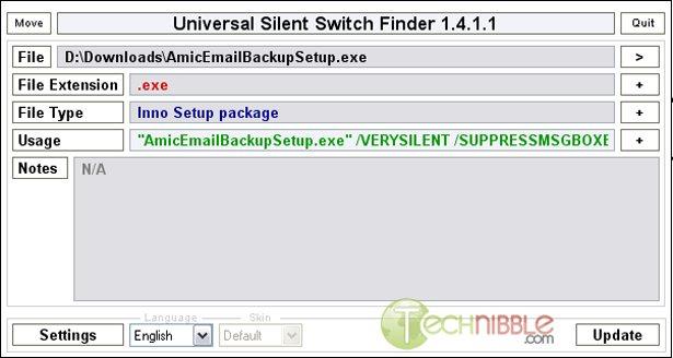 Universal Silent Switch Finder