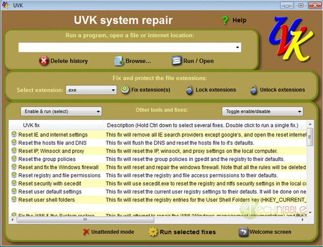 Ultra Virus Killer System Repair
