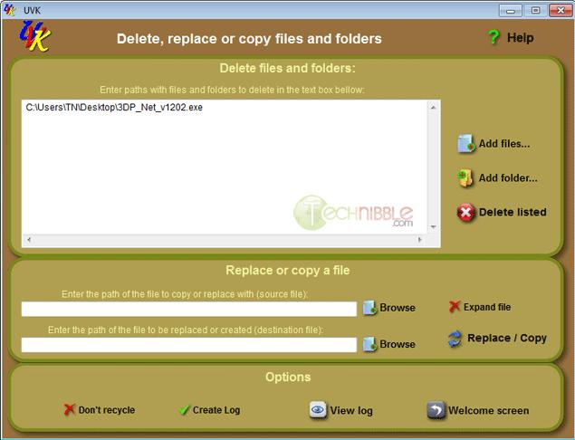 Ultra Virus Killer Delete Replace Files