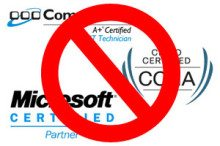 Why Techs Shouldnt Get Certified