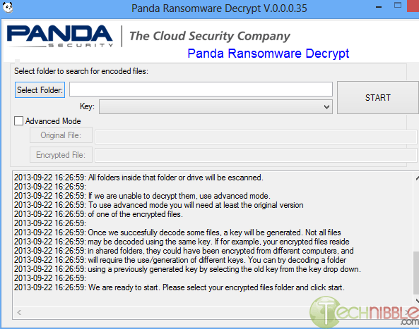 Panda Ransomware Decrypt Tool - Restore Encrypted Files