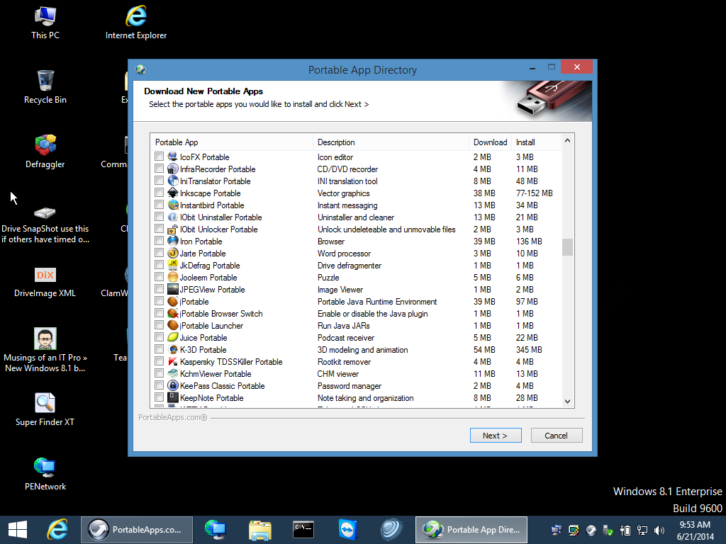 gandalfs windows 10pe bootable usb