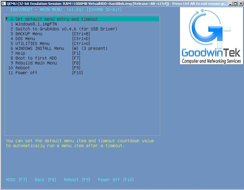 Retire Your Boot Disks With Easy2Boot and Boot Your System