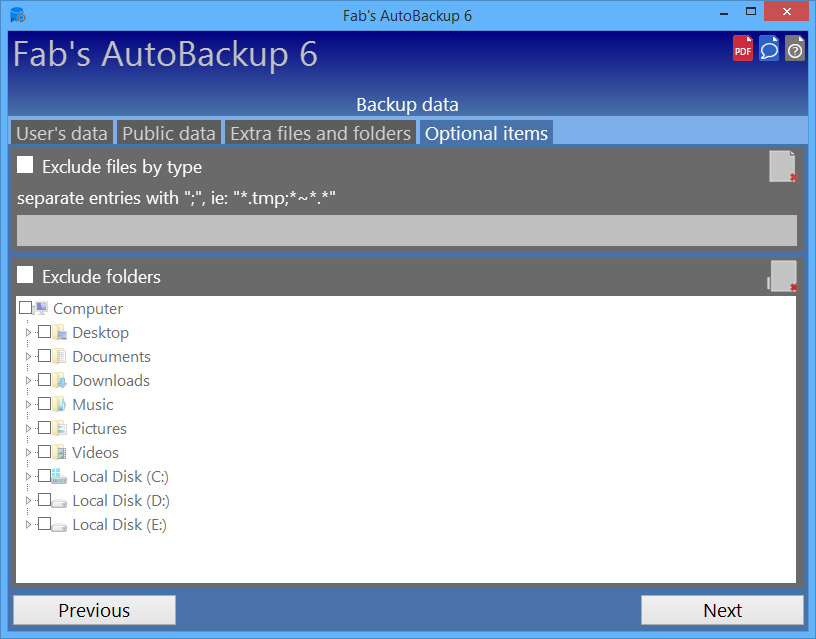 fabs autobackup alternative